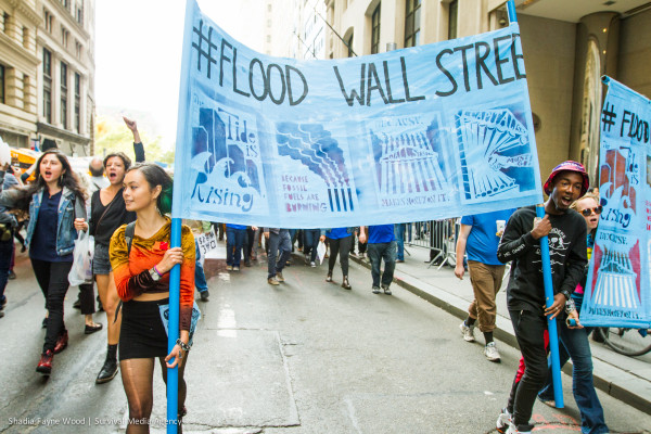 Flood Wall Street